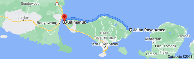 Amed To Gilimanuk