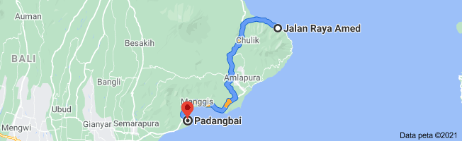 Amed To Padang bai