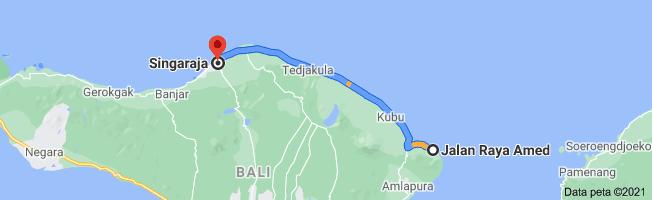 Amed To Singaraja